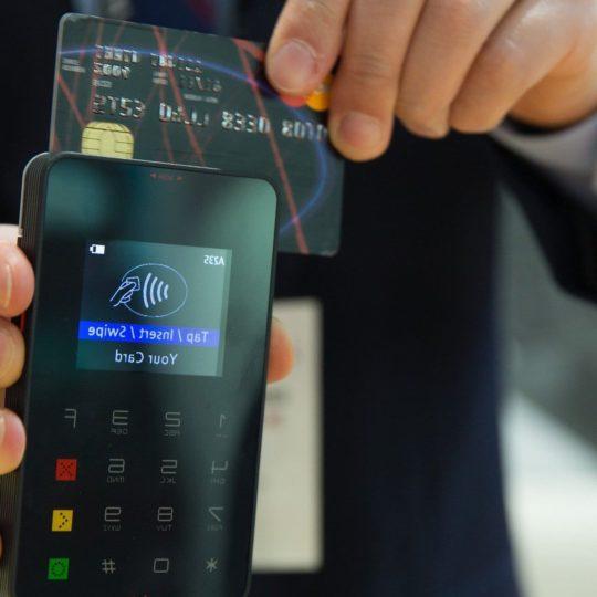 Zahlung mit der Kreditkarte